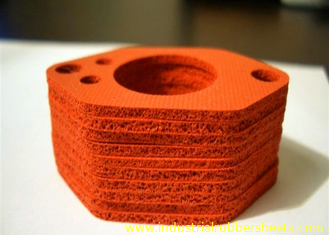 UV Resistance Silicone Rubber Washers , Close Sell Silicone Sponge Gasket