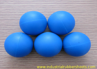 Food Grade Custom Silicone Rubber Ball For Machinery / Bathroom Facilities
