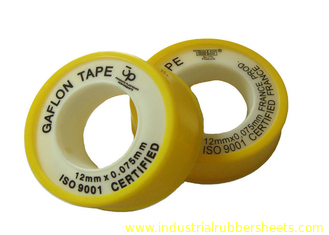 Anti - corrosion Colorful Unsintered PTFE Gasket Tape , 6 - 50m Length