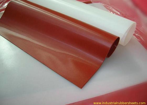 Китай Просвечивающее качество еды 100% Rolls листа силиконовой резины девственницы без запаха дистрибьютор