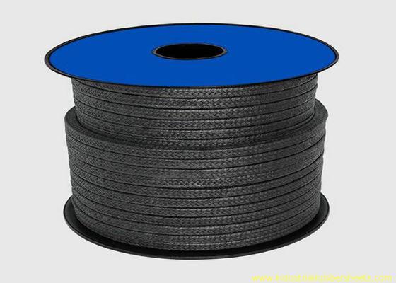 Китай Черная упаковка тефлона PTFE для веревочки набивки сальника материала/графита запечатывания дистрибьютор